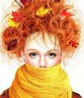 A garota do cachecol Amarelo